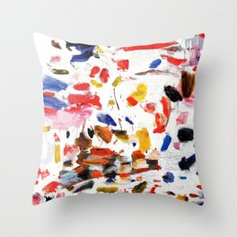 Abstract Painting #2 Throw Pillow