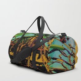 FAVORITE GREEN AGAVE & ROOTS GREENHOUSE  PHOTO Duffle Bag