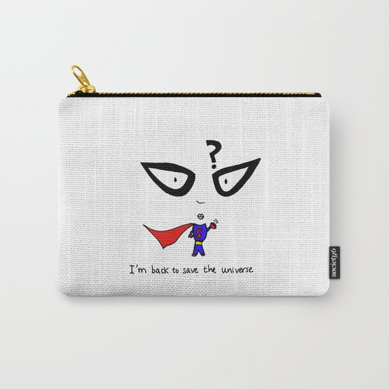 Kind of a super man Carry-All Pouch