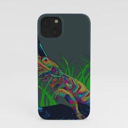 Colorful Lizard iPhone Case