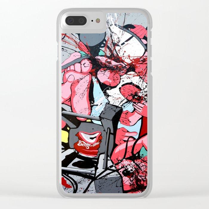 Guerre puDiche Clear iPhone Case