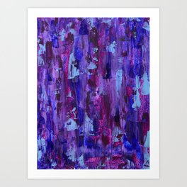 Purple Path Art Print