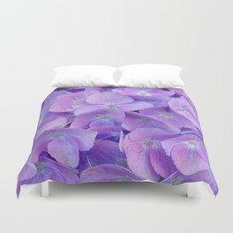 Hydrangea lilac Duvet Cover