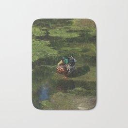 Duck's portrait Bath Mat