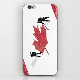 Snow in Canada iPhone Skin