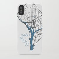 dc iPhone & iPod Cases featuring Washington, DC by linnydrez