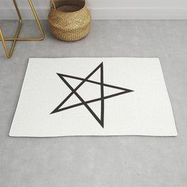 Pentangle Ancient Symbol Rug