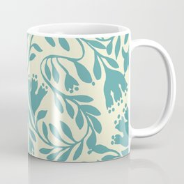 impression indienne blue turquoise. Coffee Mug