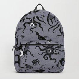 Cosmic Horror Critters in Twilight Zone Glow Backpack