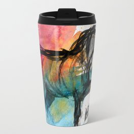Horse (Saklavi - color version) Travel Mug