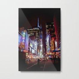 West 42nd Street, New York, New York Metal Print