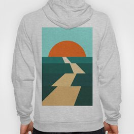 Abstract landscape XIII Hoody
