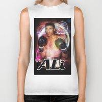 ali gulec Biker Tanks featuring Ali #2 by YBYG