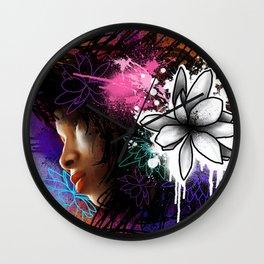 Beautiful In Distress Wall Clock