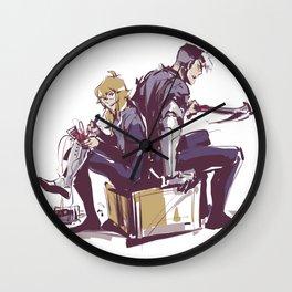 shidge_sketchy_messy Wall Clock