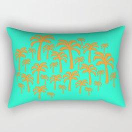 Plam tree patch Rectangular Pillow