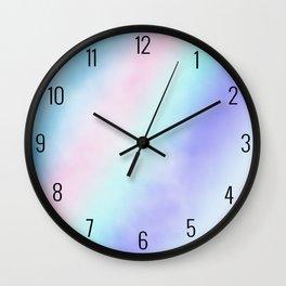 Pastel Love Wall Clock