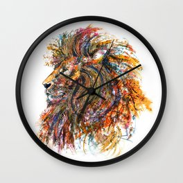 'The King' Wall Clock