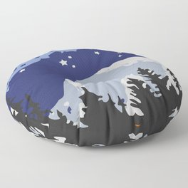 Yosemite. Floor Pillow