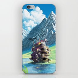 Howls Moving Castle iPhone Skin