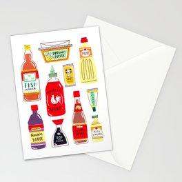Asian Seasonings Stationery Cards