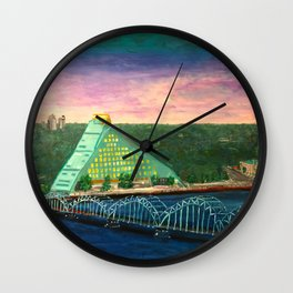 The Castle of Light Wall Clock