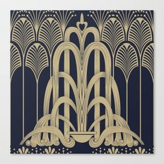 Gatsby Glamour Canvas Print