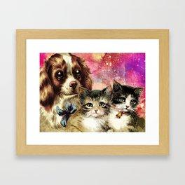 BEST FRIENDS FOREVER Framed Art Print