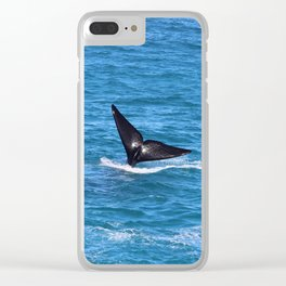 Southern Right Whale on Great Australian Bight Clear iPhone Case