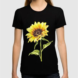 Watercolor Sunflower T-shirt