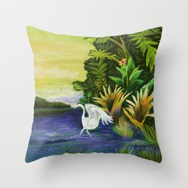 Blurred Vision  Throw Pillow