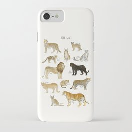 Wild Cats iPhone Case
