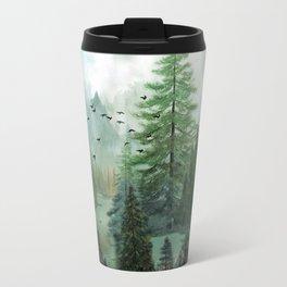 Mountain Morning 2 Metal Travel Mug