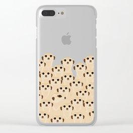 Meerkats - Suricata Clear iPhone Case