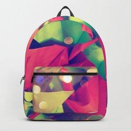 Senbazuru | pink and green Backpack