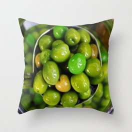 Olive you lots Throw Pillow
