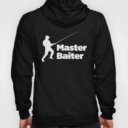 Master Baiter Funny Quote Hoody