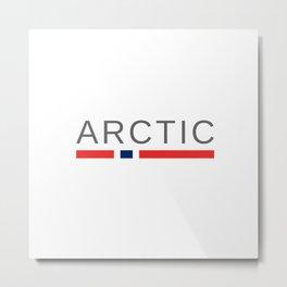 Arctic Norway Metal Print