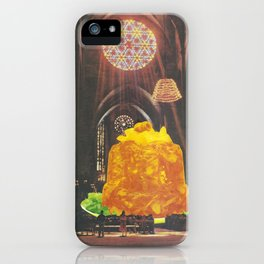 Worship Him iPhone Case
