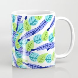 Swirling Leaves Coffee Mug