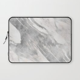 Castello silver marble Laptop Sleeve