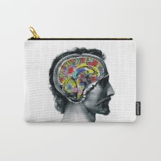 Brain colors fashion Jacob's Paris Carry-All Pouch
