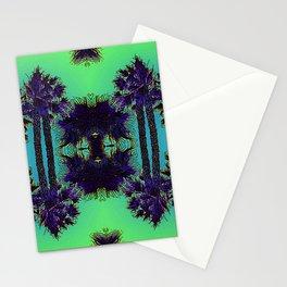 Hawaiian Neon Summer Nights Stationery Cards