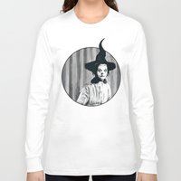 hocus pocus Long Sleeve T-shirts featuring My Grandma Did The Hocus Pocus by Zombie Rust
