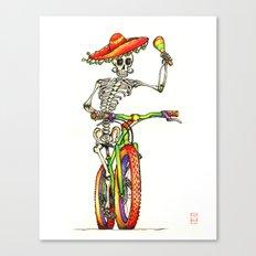 Dead Rider Canvas Print