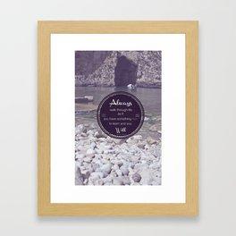 Dwejra Framed Art Print