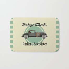 Vintage Wheels - Packard Boattail Speedster Bath Mat
