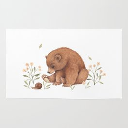 Spring Bear Rug