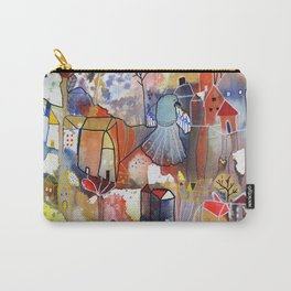 to be happy Carry-All Pouch