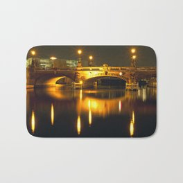 Moltke-Bridge at the river Spree in Berlin Bath Mat